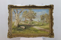 brown wooden framed painting of trees Vaudreuil-Dorion