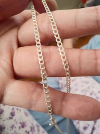 """18"""" inch Sterling Silver Chain Necklace Jersey City, 07304"""