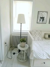 IKEA Lamp and boho plant stand or side table Arlington, 22201