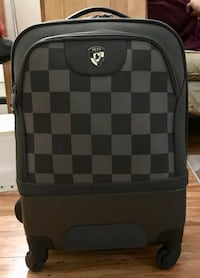 black and gray checkered backpack Surrey, V3T 3Z3