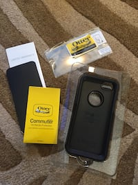 Otterbox commuter series with screen protector brand new iPhone 5 5S and SE Hamilton, L8M 2B5