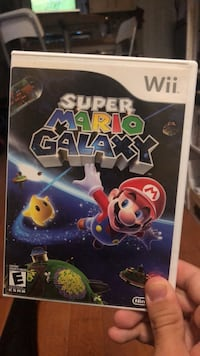 Nintendo Wii Super Mario Galaxy game case Toronto, M6H