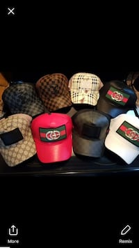 six assorted color fitted caps Gatineau, J9H