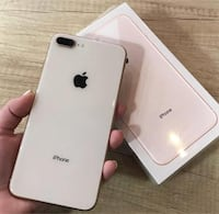 Silver iphone 8 plus for sale null
