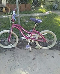 pink bmx bicycle Russell, 67665