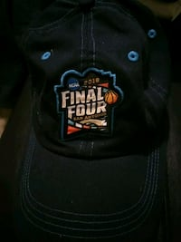 Blue final four baseball cap 215 mi