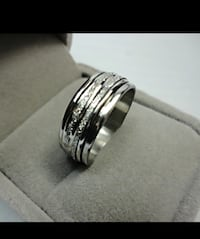 Silver Frost Rotatable Stainless Steel Rings Chesapeake, 23321