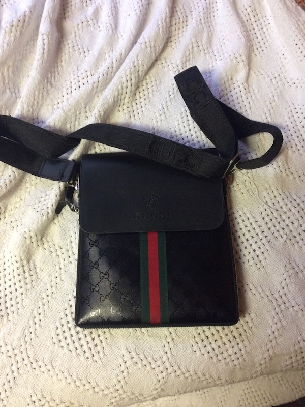 Black Gucci Side Bag