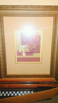 brown wooden framed painting of flowers Richmond, 40475