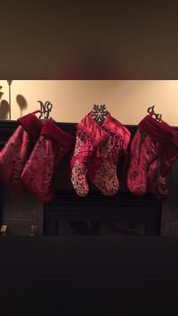 6 Christmas stockings