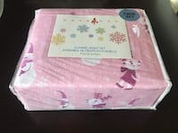 Brand new-twin flannel sheet set,100%cotton Calgary, T2A 4H7