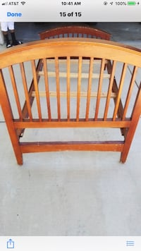 Two twin size bed frames Palmdale, 93551