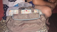 Diaper bag-$20  good shape just used once and has black marker on the roght side pocket that says Hafer(bought off someone for 30 just want half my money back) Berea, 40403
