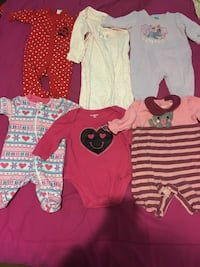 0-3 Months Baby girl clothes  Augusta, 30904