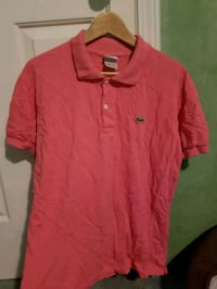 Pink Lacoste Polo Shirt Vancouver, V5K 2W7