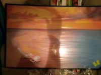 Beautiful art picture of butterfly and sunset and  Akron, 44314