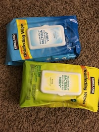 Disinfectant wipes new packets El Paso, 79935