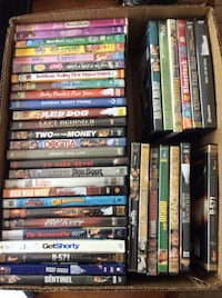 Box of 40 DVDs Bedford, 76022