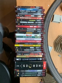 HD DVD Movie lot (27 movies + 3 box sets)