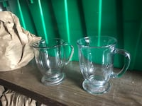 Clear glass pitcher and cups Florence, 59833