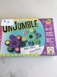 Unjumble math and spelling game Omaha, 68130