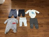 EUC, infant boys mixed lot clothes, 0-3m and 3 months, Brampton, L6R 2C4