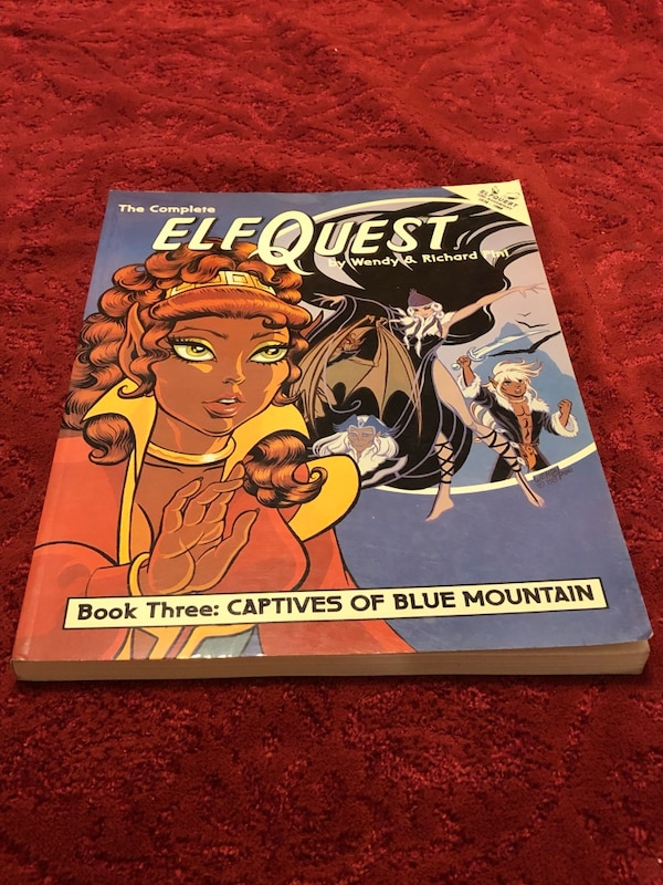Elfquest Graphic Novel Book 3: Captives of Blue Mountain