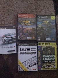 Four assorted ps3 game cases Toronto, M6R 2L5