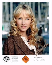 Anne Heche autographed photo