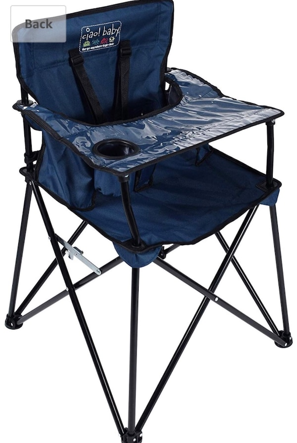Amazing Ciao Baby Portable Fold Up High Chair Navy Ocoug Best Dining Table And Chair Ideas Images Ocougorg