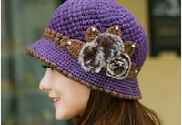 Purple women stylish hat  Waterloo