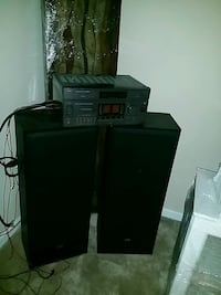 JVC vintage receiver and floor speakers  Decatur, 30034