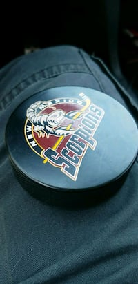 Scorpions Hockey Puck  Albuquerque, 87107