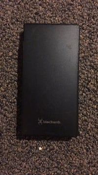 overBlackweb portable charger. Charges y full 4 times  with a full battery with a