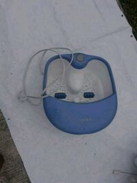 blue and white Philips canister vacuum cleaner Port St. Lucie, 34953