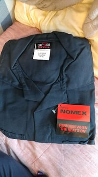 Saf-Tech Nonexistent 4.5oz Navy Contractor Coverall CHS1525 Lacombe