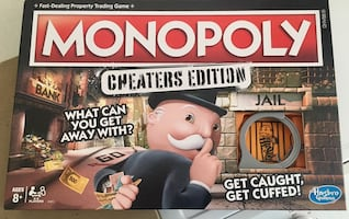 New Monopoly Cheaters Edition
