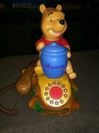 Animated Winnie the Pooh Telephone.. (Real Telephone)