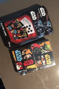 Brand new Star Wars playing cards. Vancouver, V5Y 2S7
