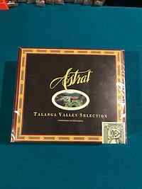 ****FACTORY SEALED****ASTRAL TALANGA VALLEY SELECTION TORPEDO BOX***NEW****UNOPENED**** Chicago, 60643