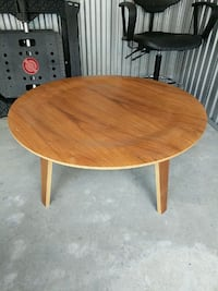 Eames style wood coffee table