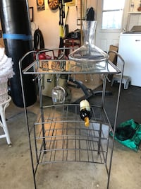 Wine Glass and bottle Rack Santa Cruz, 95065