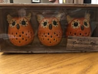 BRAND NEW HAYMARKET SQUARE SET OF 3 CANDLE HOLDERS