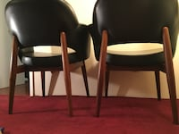 Teak mid century lounge chairs Vancouver, V5N