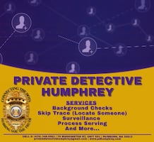 Contracting - Private Detective Humphrey