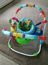 baby's multicolored jumperoo Edmonton, T6A 0H4