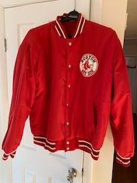 Red and white button up jacket Woodbridge, 22193