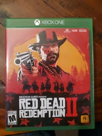 Red Dead Redemption 2 (Xbox One) Both Discs Cary, 27519