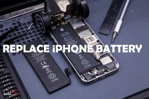 iPhone Battery Replace with Life Time Warranty