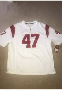 Brand new usc football jersey number 47 size large  Cerritos, 90715